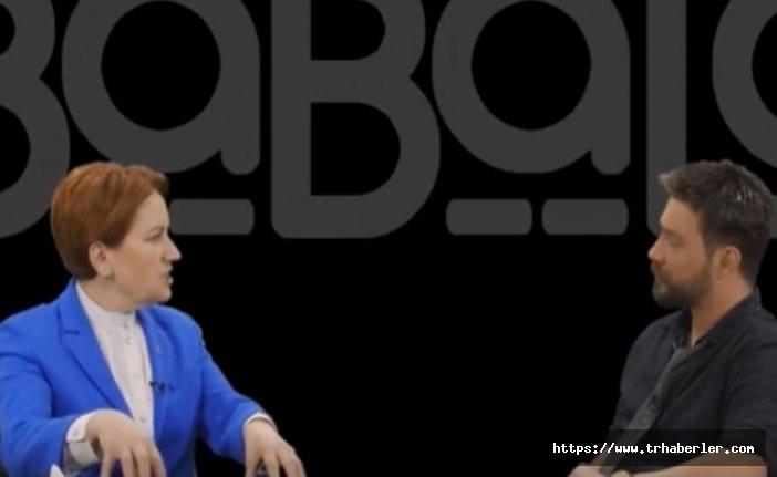 Meral Akşener:'Bana FETÖ'cü diyorlar FETÖ'cüler yanlarında' dedi ve o ismi açıkladı video izle