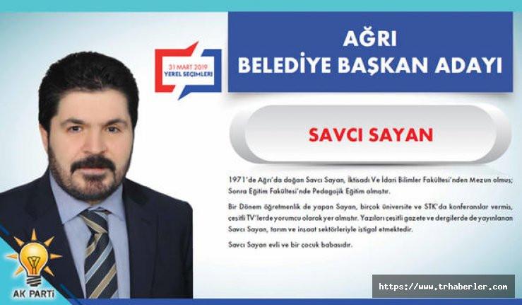 AK Parti Ağrı belediye başkan adayı belli oldu! (SON DAKİKA)