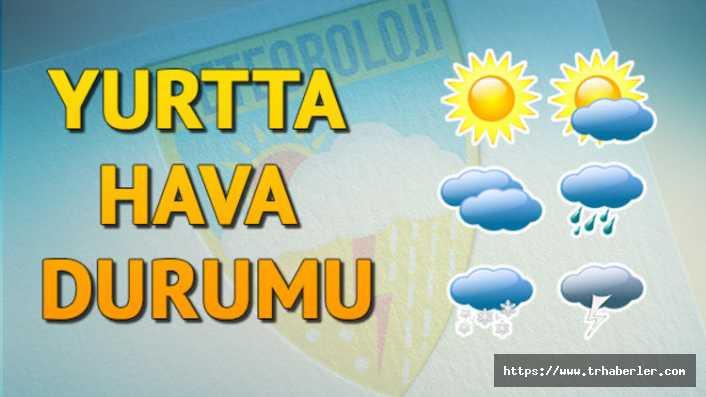 14 Ekim Bugün hava nasıl olacak? Trafiğe çıkacaklar dikkat, meteroloji'den son dakika uyarısı